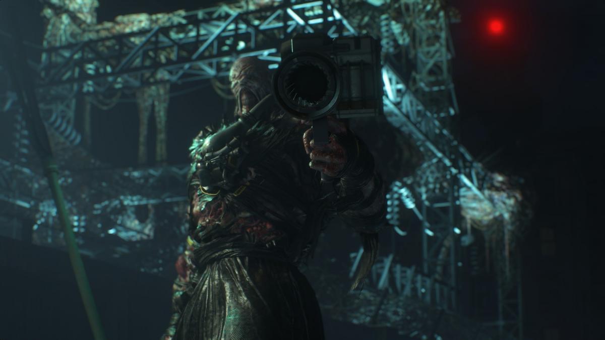 Немезіс з Resident Evil 3 Remake
