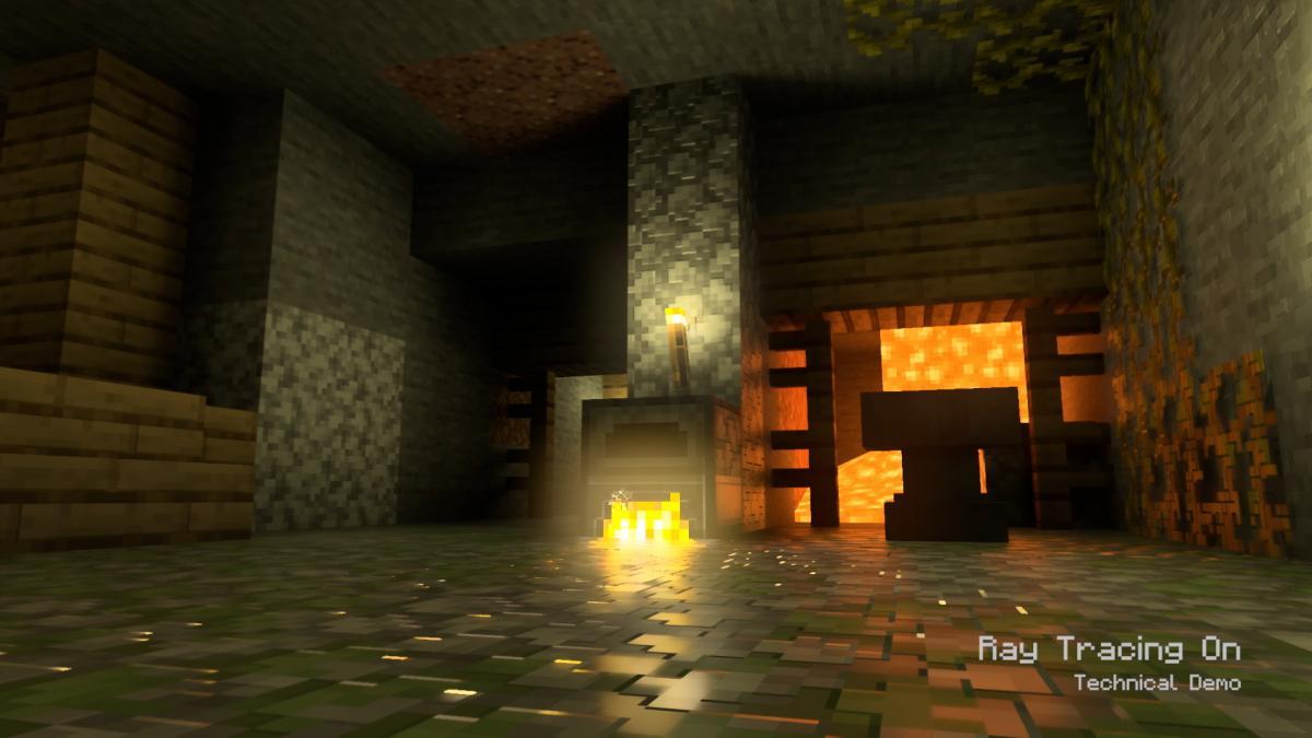 Рэйтрейсинг в Minecraft