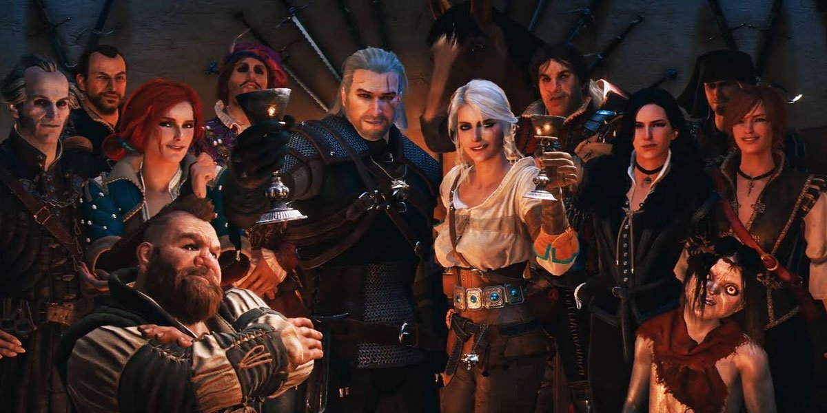 Арт гри The Witcher 3: Wild Hunt