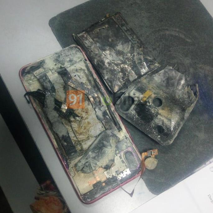 Вибухнув смартфон