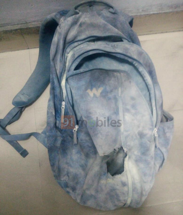 Згорілий рюкзак