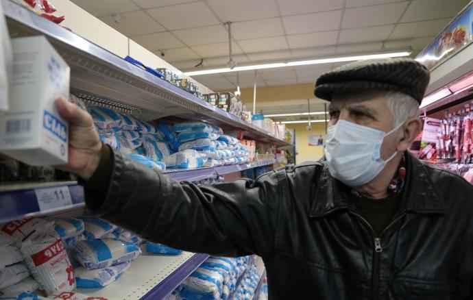 коронавирус,Украина,магазин