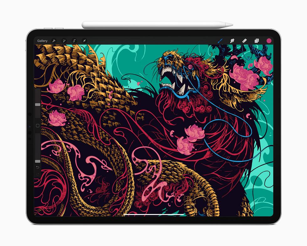 Дизайн iPad Pro 2020 року