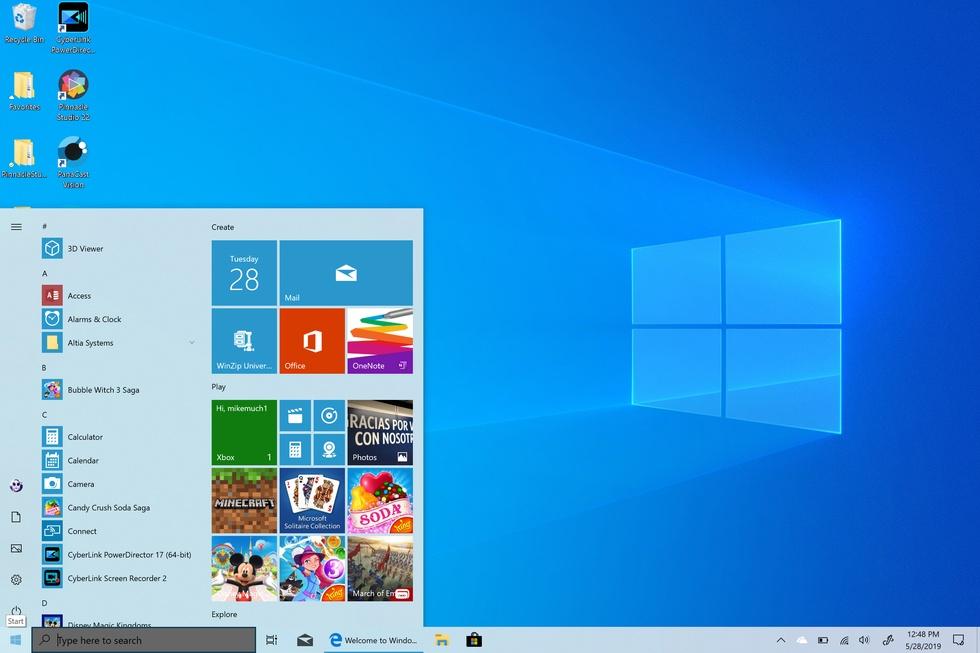Дизайн Windows 10