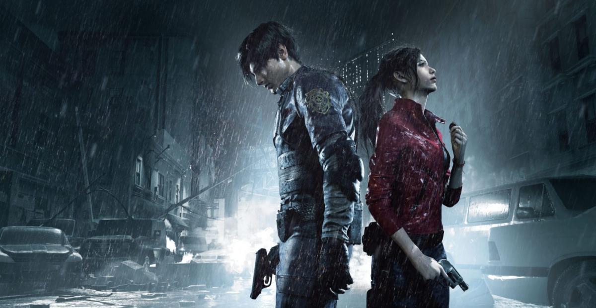 Кадр из Resident Evil 2 Remake