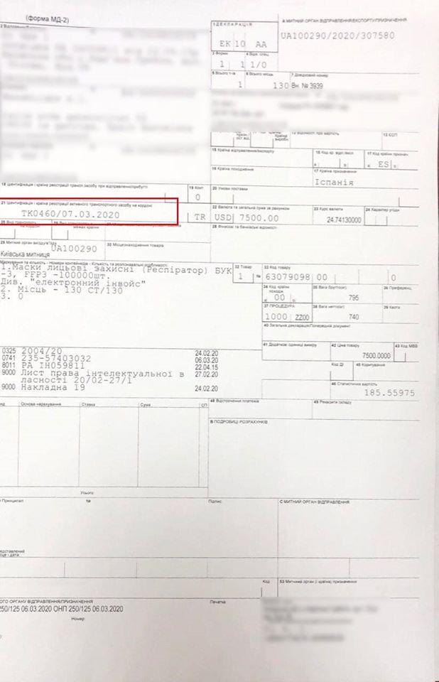 Максим Нефедов прокомментировал информацию об экспорте украинских респираторов в Испанию