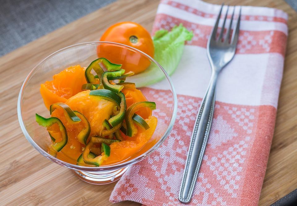 еда, салат, похудение