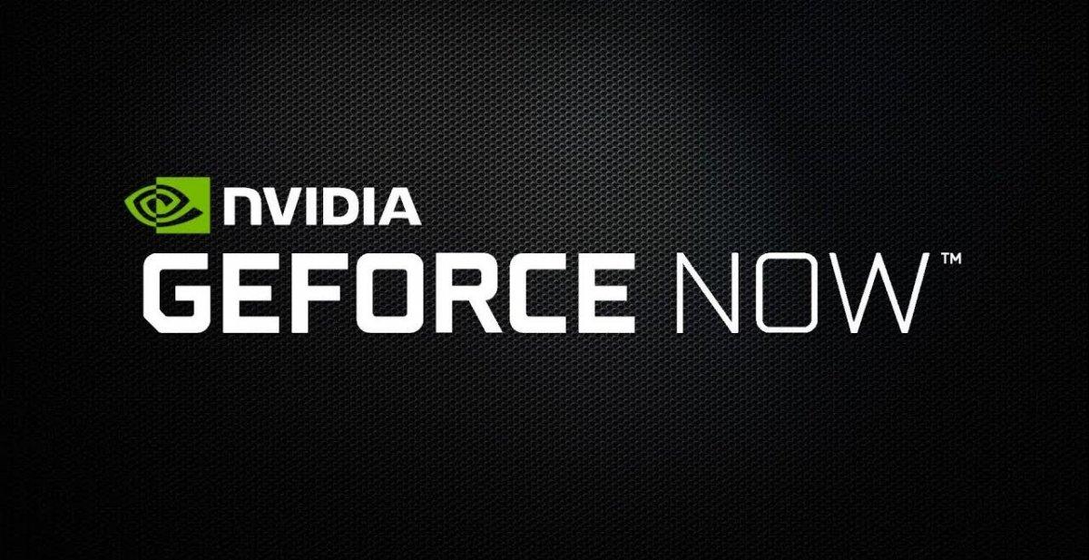 Логотип GeFroce NOW