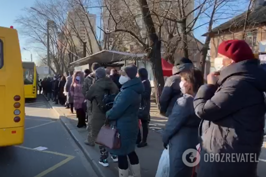 """В Киеве во время перевозки """"избранных"""" возникли проблемы, выяснили журналисты"""