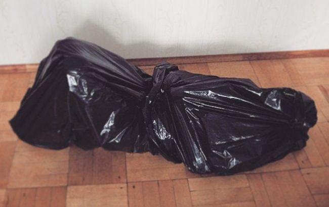 Труп, мешок