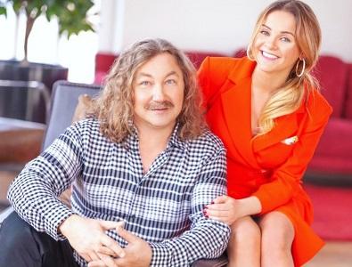 Ігор Ніколаєв з дружиною