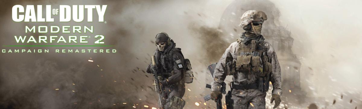 Баннер ремастера Modern Warfare 2