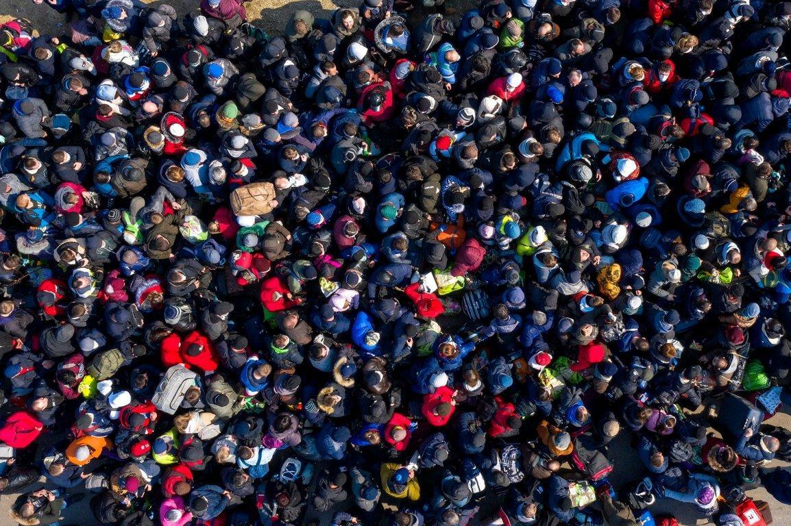 Ужасные очереди на границе / Захид.нет