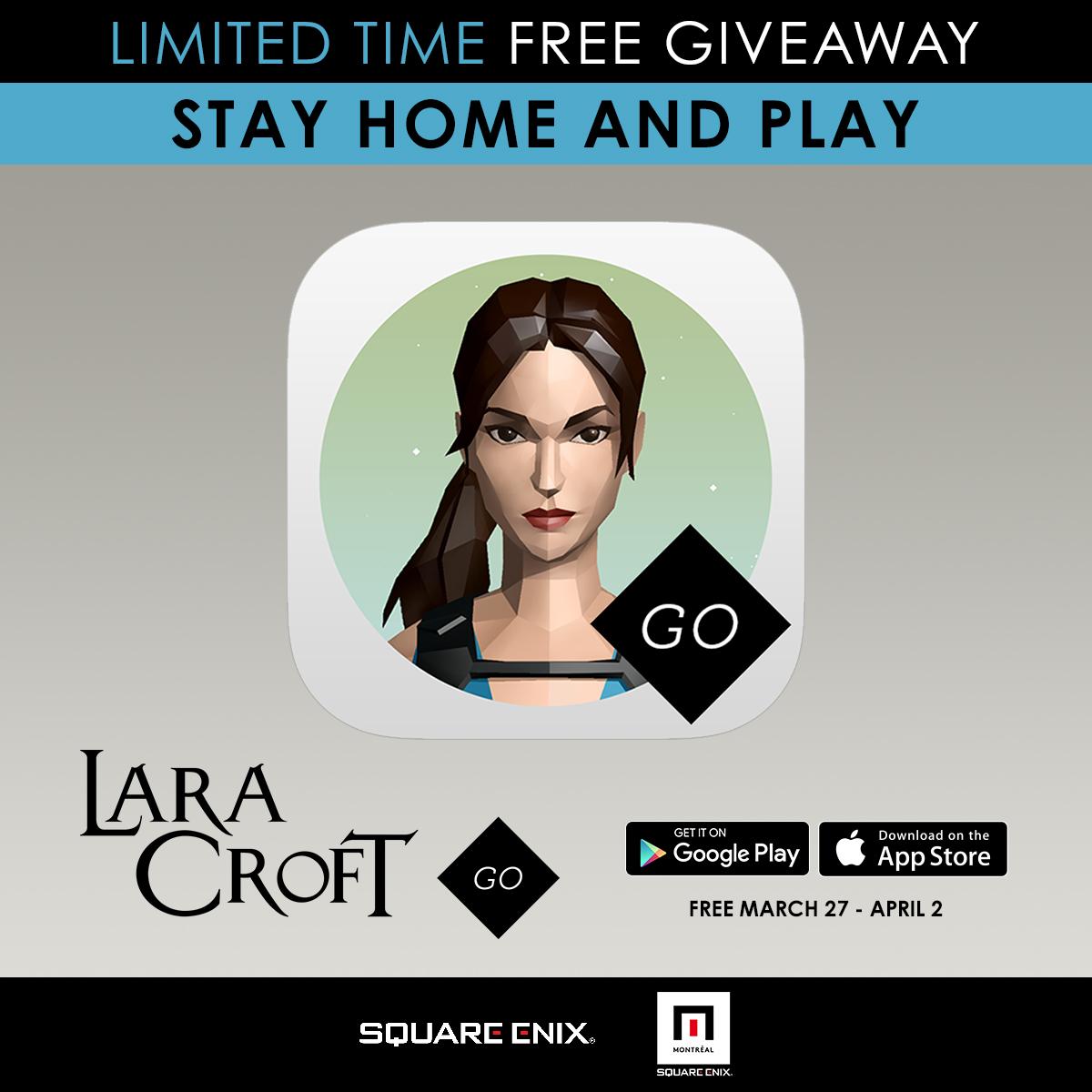 Раздача Lara Croft GO