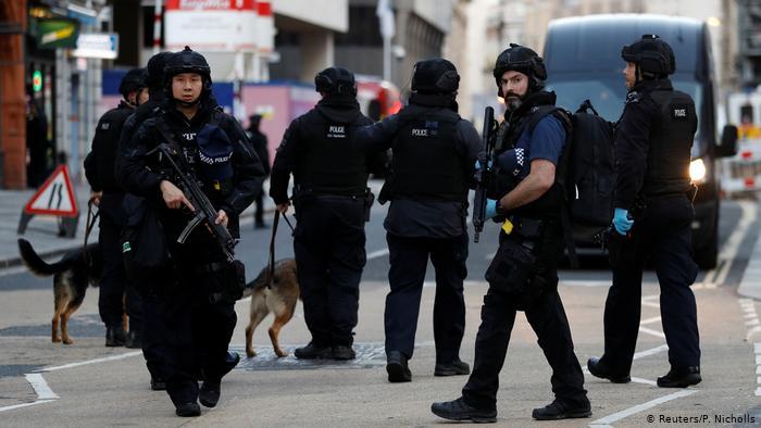 Поліція, Англія