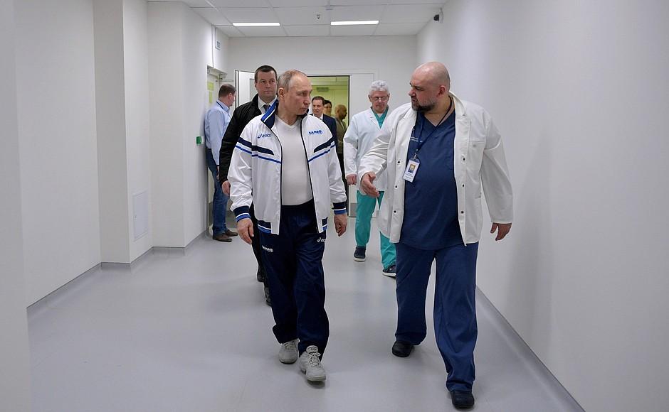 Путін, Коммунарка
