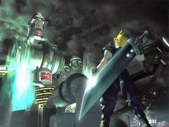 Арт оригинальной Final Fantasy VII 1997 года