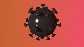 Молекула коронавируса