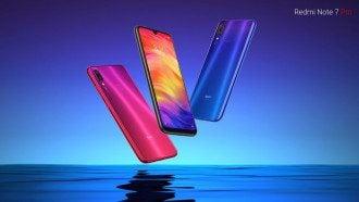 Дизайн смартфона Redmi Note 7 Pro