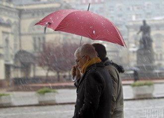 У Києві 8 квітня спрогнозовано мокрий сніг.