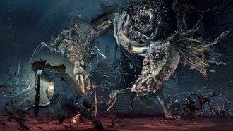 Кадр из Bloodborne