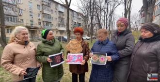 В России пенсионерки Путина сожгли Covid-19 / Фото: скриншот