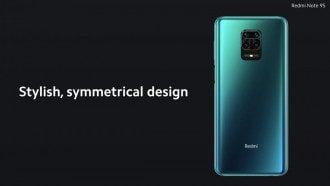 Дизайн Redmi Note 9S