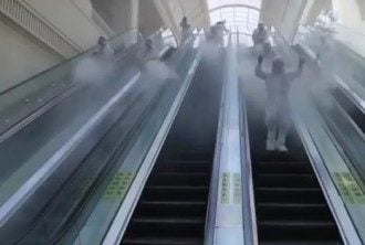 Дезинфекция в Китае