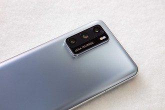 Дизайн Huawei P40