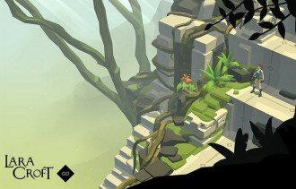 Кадр из Lara Croft GO