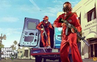 Арт Grand Theft Auto 5