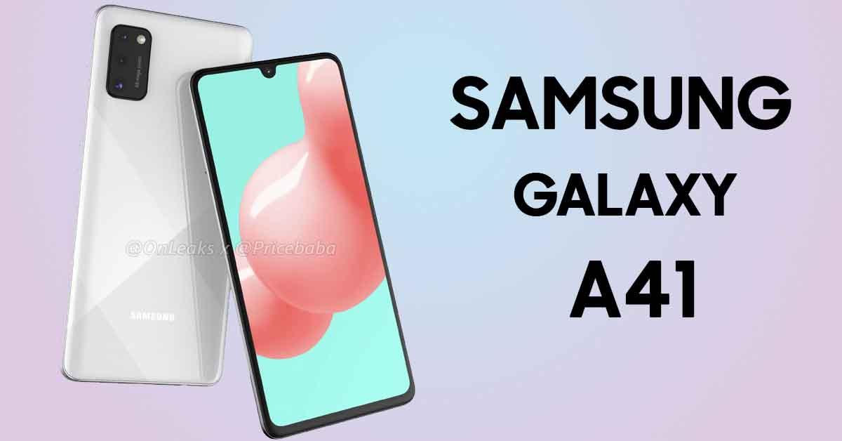 Смартфон Samsing Galaxy A41