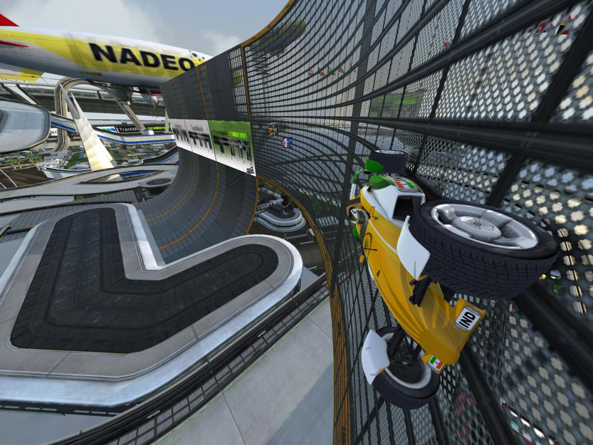 Кадр из TrackMania Nations Forever