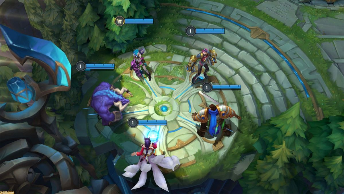 Кадр из League of Legends