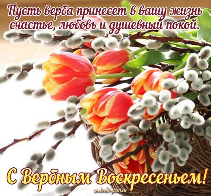 открытки с вербным воскресеньем в прозе