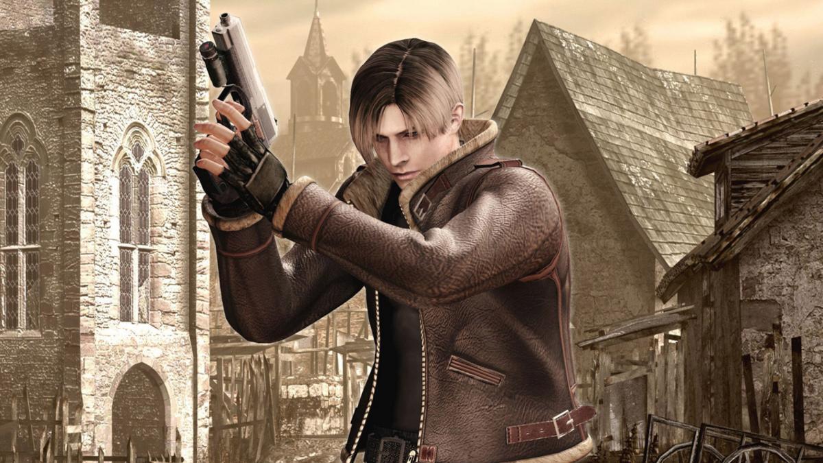 Кадр з Resident Evil 4