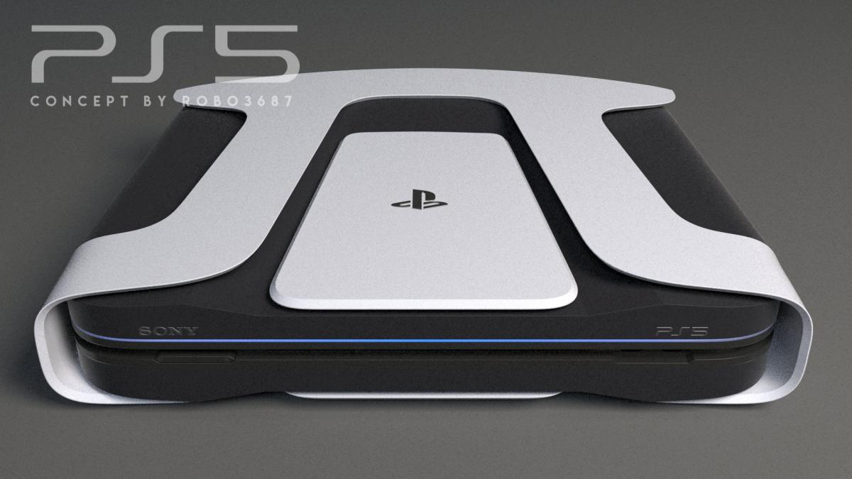 Фанатский дизайн PlayStation 5