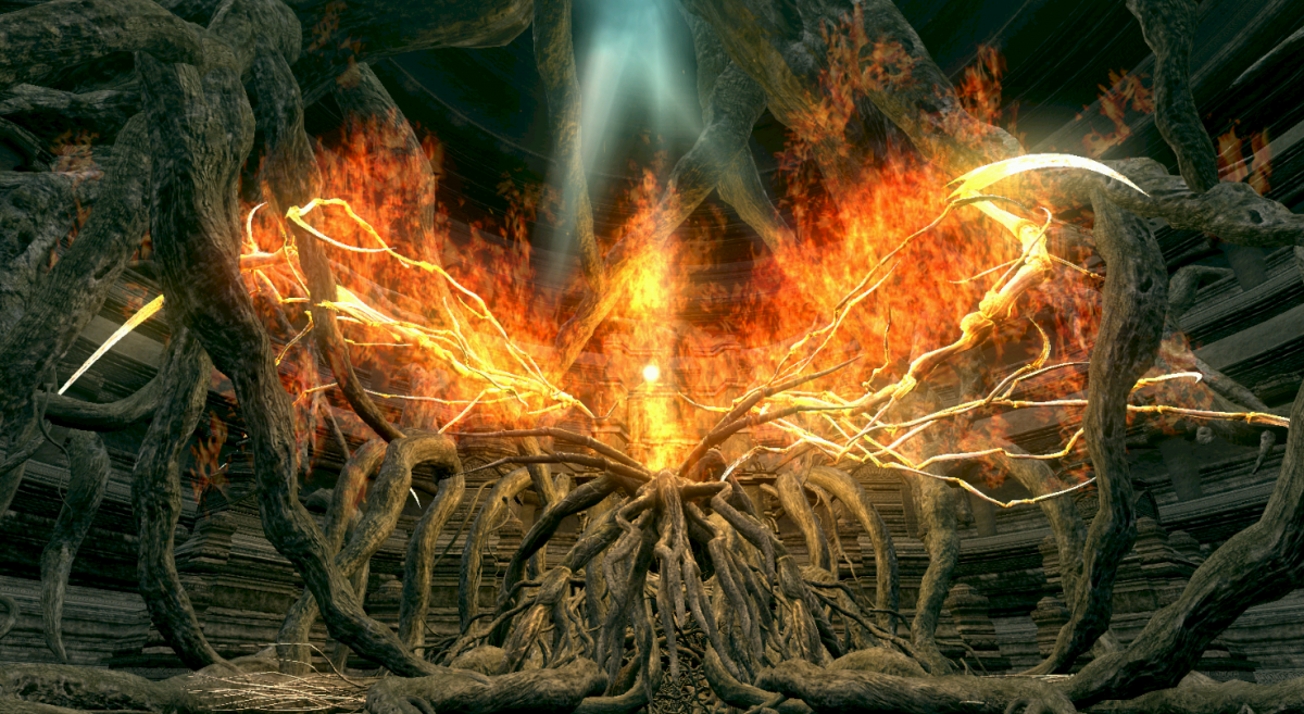 Ложе Хаосу з Dark Souls