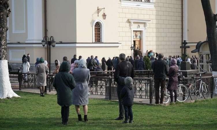 Вербное воскресенье в Черновцах, карантин
