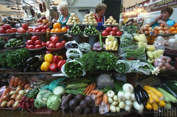 овочі, зелень