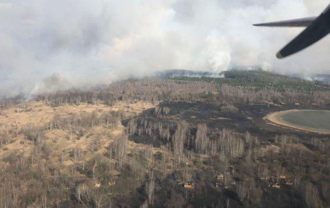 Пожежа, Чорнобиль