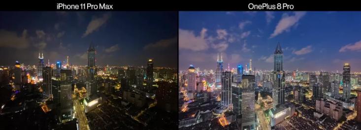 Сравнение фото iPhone 11 Pro Max и OnePlus 8 Pro