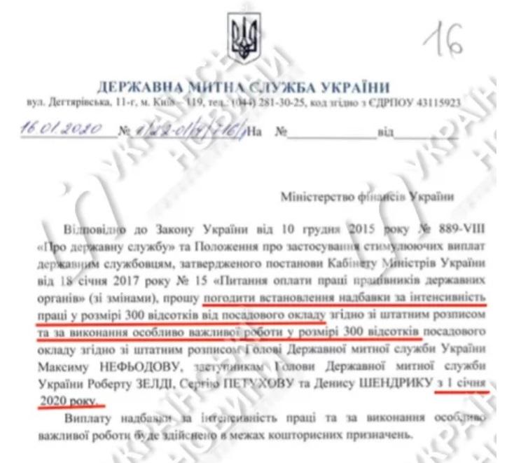 Максим Нефедов получил надбавку в 600% оклада
