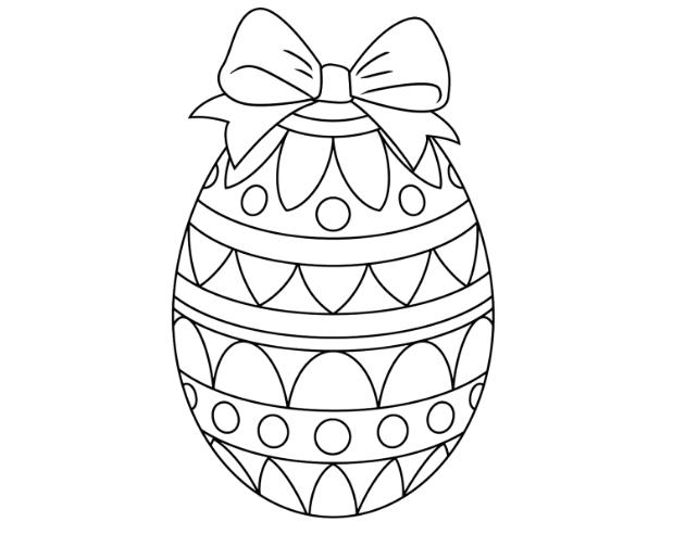 Крашанки – розмальовка – може стати зразком для створення справжнього святкового яйця – Пасхальні яйця