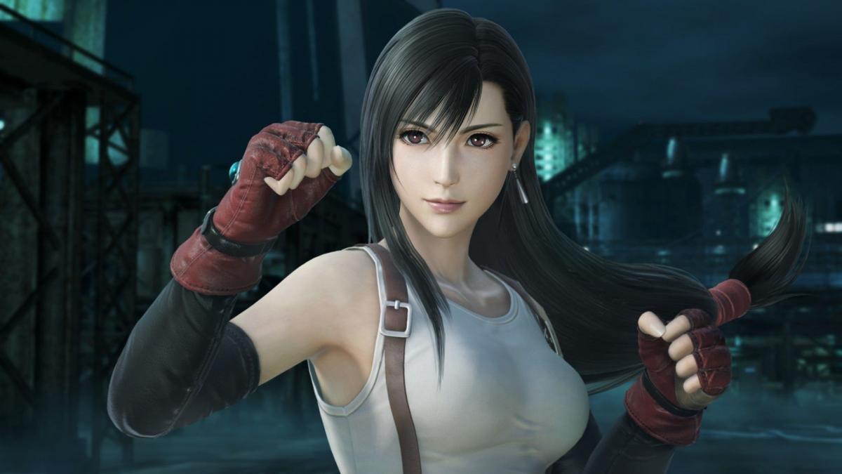 Тифу з Final Fantasy VII Remake