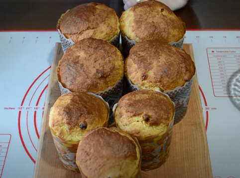 В духовке маленькие паски достаточно быстро выпекаются – Заварной кулич – идеальный рецепт
