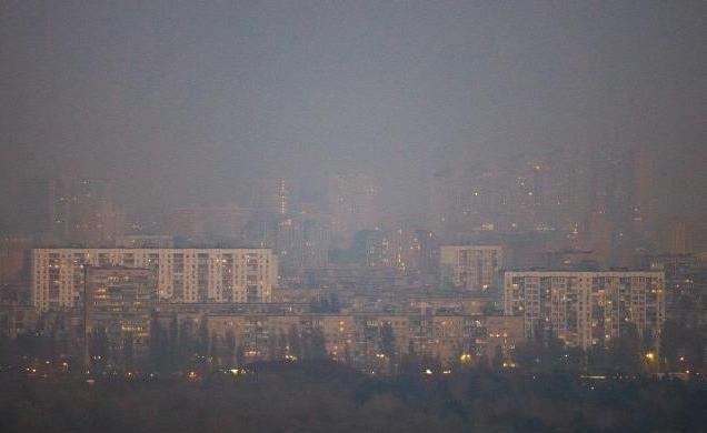 Киев, пыль
