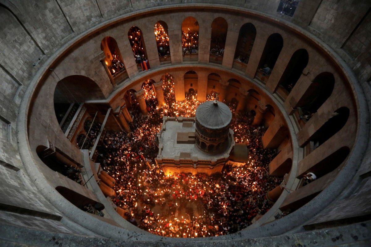 Благодатний вогонь в Єрусалимі