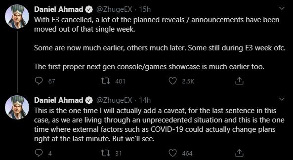Твиты Даниэля Ахмада