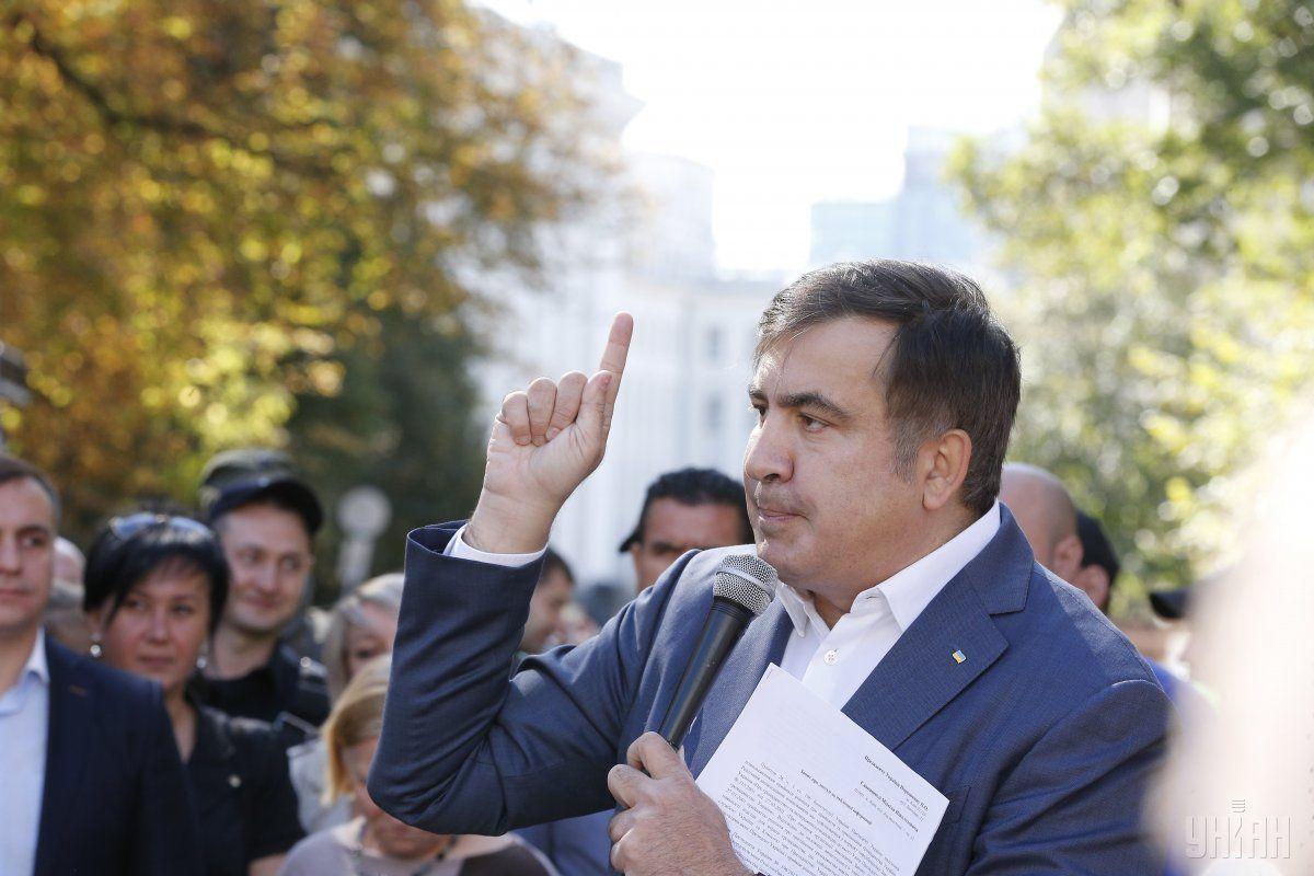 Саакашвілі після призначення дав рецепт порятунку України